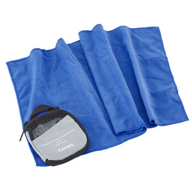 CAMPZ microvezel handdoek M blauw